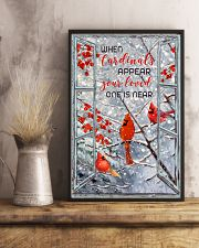 When Cardinals appear 11x17 Poster lifestyle-poster-3