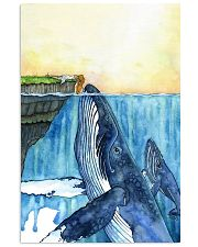 Whale and Girl 11x17 Poster front