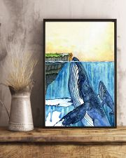 Whale and Girl 11x17 Poster lifestyle-poster-3