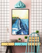 Whale and Girl 11x17 Poster lifestyle-poster-6
