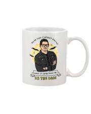 In the dark Mug front
