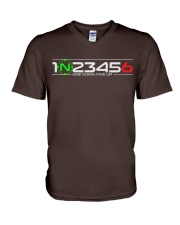 1 N 2 3 4 5 6 V-Neck T-Shirt tile