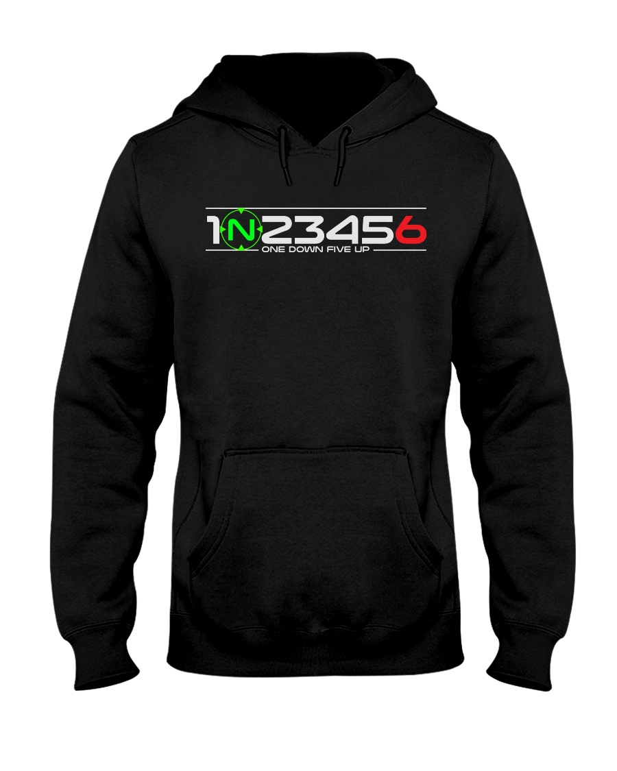 1 N 2 3 4 5 6 Hooded Sweatshirt