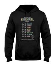 Classroom Rules - German Hooded Sweatshirt thumbnail