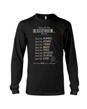 Classroom Rules - German Long Sleeve Tee tile
