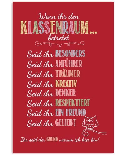 Classroom Rules - German