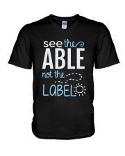 Sea The Able V-Neck T-Shirt thumbnail