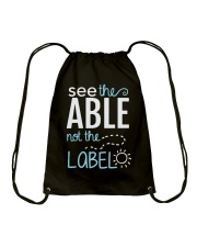 Sea The Able Drawstring Bag thumbnail