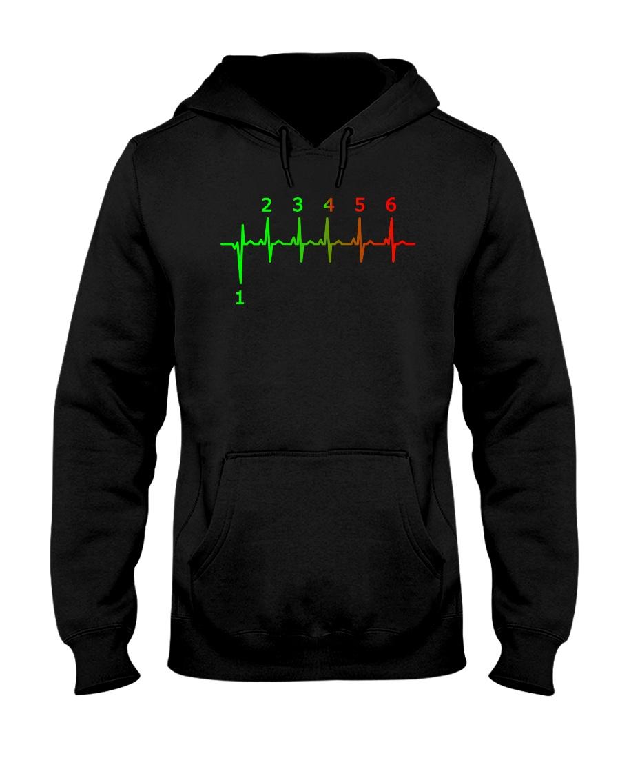 1 N 2 3 4 5 6 Hooded Sweatshirt