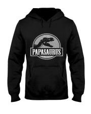 Mens Jurassic Papasaurus Rex Dinosaur Tee For Dad  Hooded Sweatshirt thumbnail