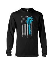Machinist T Shirt  4th of July US American Long Sleeve Tee thumbnail