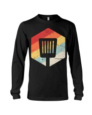 Retro Vintage Grilling Gift - Cooking Barb Long Sleeve Tee thumbnail
