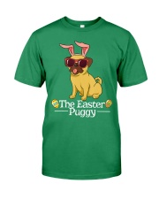 Funny Easter Pug Shirt - Easter Puggy Bun t Premium Fit Mens Tee front