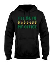 I ll Be In My Office Funny Gardening Pu Hooded Sweatshirt thumbnail