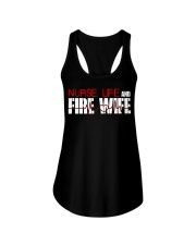 Nurse life and Fire Wife Firefi Ladies Flowy Tank thumbnail