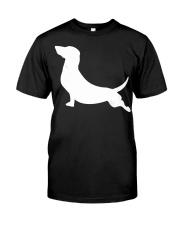 Dachshund Yoga Dachshund Classic T-Shirt front