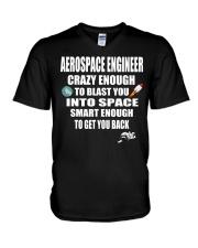 Aerospace Engineer Rocket Science T Shirt Gi V-Neck T-Shirt thumbnail