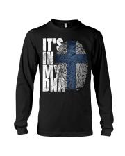 It's In My DNA Finnish Shirt Suomi Finlan Long Sleeve Tee thumbnail