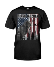 Black Labzilla Amercian Labrador Retriever T Premium Fit Mens Tee tile