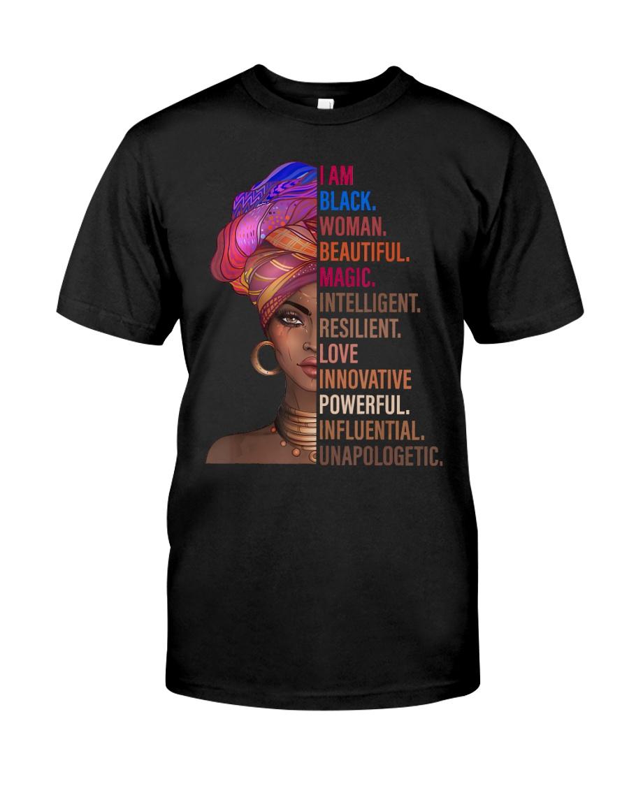 I Am Black Woman Black History Month 2019 T- Classic T-Shirt