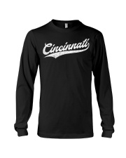 Cincinnati Baseball  Ohio Pride Vintage Re Long Sleeve Tee thumbnail