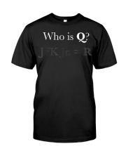 Q ANON Shirt qanon Vincent Fusca JFK jr Foll Classic T-Shirt front