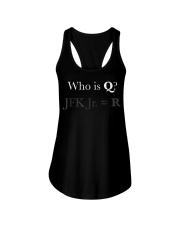 Q ANON Shirt qanon Vincent Fusca JFK jr Foll Ladies Flowy Tank thumbnail