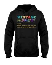 Vintage Pharmacist Knows More Than She Says  Hooded Sweatshirt thumbnail