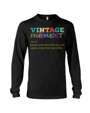 Vintage Pharmacist Knows More Than She Says  Long Sleeve Tee thumbnail