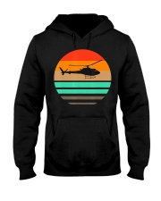 Vintage Helicopter Pilot T Shirt - Pilot and Hooded Sweatshirt thumbnail