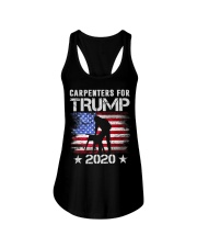 Carpenters for Trump 2020 Tshirt Carpenters l Ladies Flowy Tank thumbnail