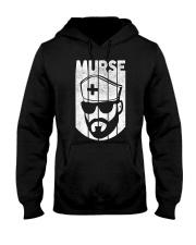 Mens Murse Funny Beard Male Nurse T-Shirt n Hooded Sweatshirt thumbnail