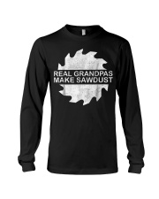 Woodworking Carpenter T-Shirt Grandpa Woodw Long Sleeve Tee thumbnail
