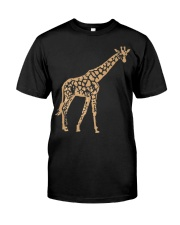 Giraffe T shirt giraffe drawing shirt Premium Fit Mens Tee thumbnail