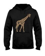 Giraffe T shirt giraffe drawing shirt Hooded Sweatshirt thumbnail
