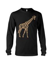 Giraffe T shirt giraffe drawing shirt Long Sleeve Tee thumbnail