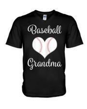 Womens Baseball Grand V-Neck T-Shirt thumbnail