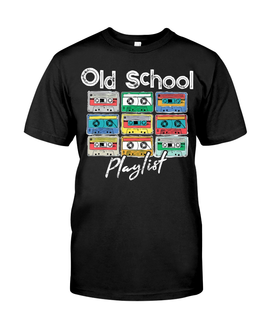 Cassette Tape Music 80s Old School P Premium Fit Mens Tee