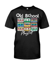 Cassette Tape Music 80s Old School P Premium Fit Mens Tee front