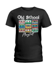 Cassette Tape Music 80s Old School P Ladies T-Shirt thumbnail