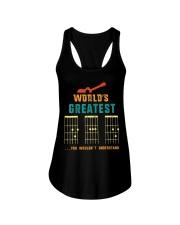 Retro Worlds Greatest Dad Shirt Funny Gui Ladies Flowy Tank thumbnail