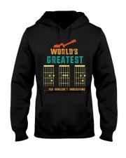Retro Worlds Greatest Dad Shirt Funny Gui Hooded Sweatshirt thumbnail