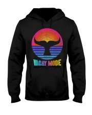 Funny Vacay Mode Beach Palms Cruise Vibes  Hooded Sweatshirt thumbnail
