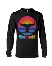 Funny Vacay Mode Beach Palms Cruise Vibes  Long Sleeve Tee thumbnail
