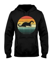 Sea Otter Shirt Sunset Retro Vintage 70s An Hooded Sweatshirt thumbnail