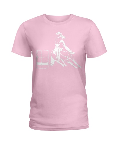 Barrel Racing Rodeo Shirt  Cute Horse Lover