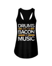 Drums Are The Bacon Of Music  Drums Gi Ladies Flowy Tank thumbnail