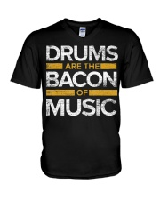 Drums Are The Bacon Of Music  Drums Gi V-Neck T-Shirt thumbnail