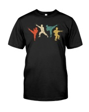 Vintage Martial Arts T-Shirt Kids And Adult Premium Fit Mens Tee thumbnail