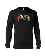 Vintage Martial Arts T-Shirt Kids And Adult Long Sleeve Tee thumbnail